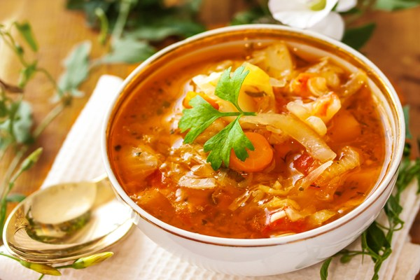 Fat burning diet cabbage soup only