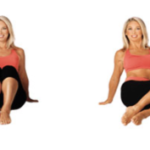 lose-belly-fat-seated-knee-drop