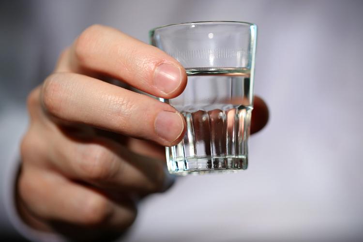 Shot-of-vodka
