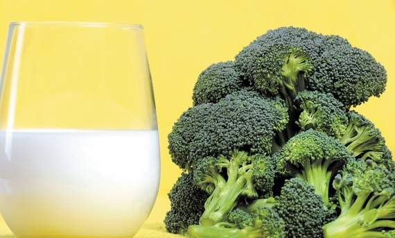 Calcium-Broccoli-milk