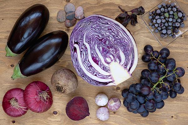 Natural Purple Food Color