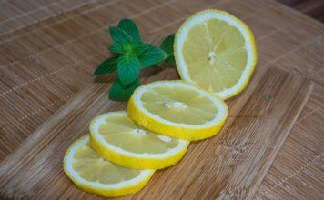cut lemons