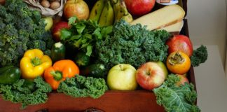 fruits and vegetables to reduce stress