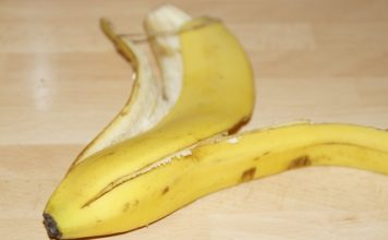 banana peel facial mask