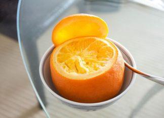 Steamed Orange Cough Remedy