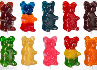 what are gummy bears made of?