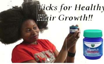 vicks vaporub for hair growth