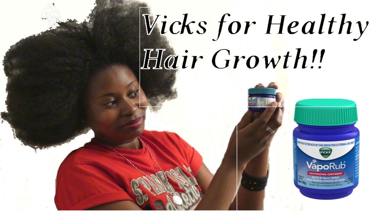 vicks vaporub for hair growth