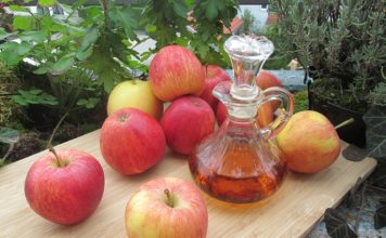 apple cider vinegar for spider veins