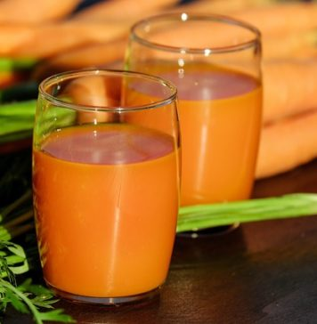 carrot juice as cough remedy