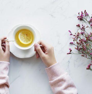 hot lemonade for acidity