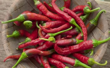 chili pepper for lung cancer