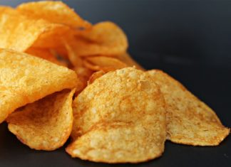 potato-chips and toilet cleaner