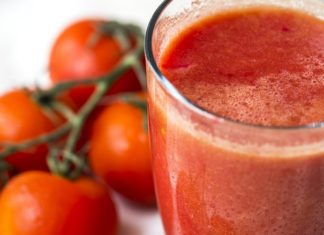 tomato juice for heart health